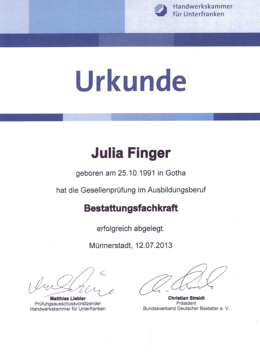Finger Julia