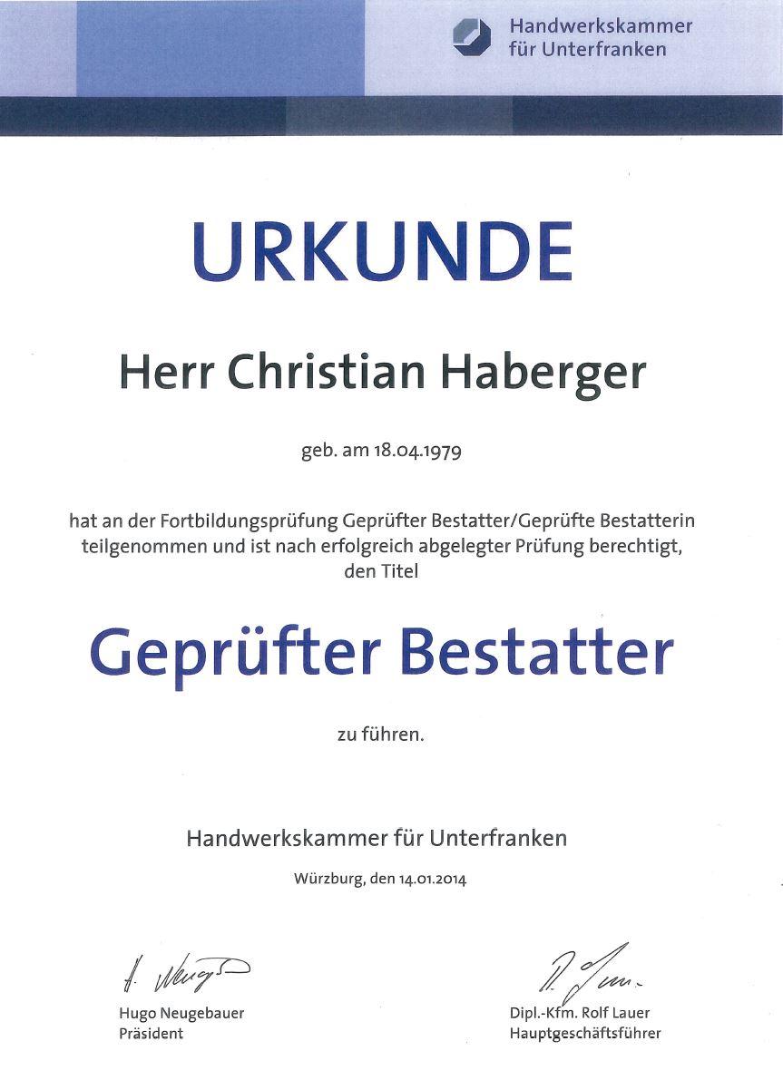 Haberger Christian