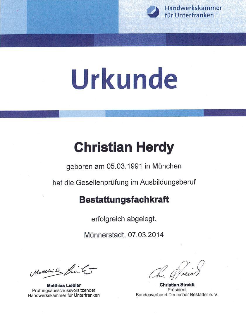 Herdy Christian